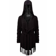 Sweather Women's (Cardigan) KILLSTAR - Nightshade - Black, KILLSTAR