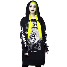 Unisex hoodie KILLSTAR - Raise Hell, KILLSTAR