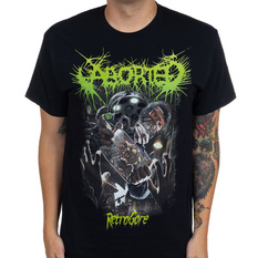 Men's t-shirt Aborted - Retrogore - INDIEMERCH, INDIEMERCH, Aborted