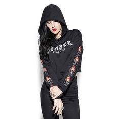 hoodie women's - Sinner - BLACK CRAFT, BLACK CRAFT