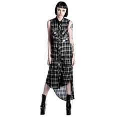 Dress women's KILLSTAR - Unplugged - Black, KILLSTAR