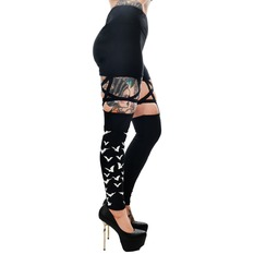 Pant's Women's (leggings) TOO FAST - PENTAGRAM - FLYING BATS, TOO FAST