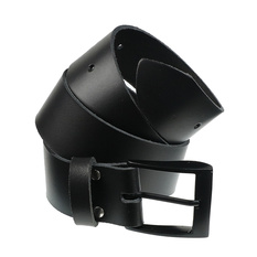 Belt, BLACK & METAL