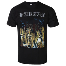 t-shirt metal men's Burzum - BURNING WITCHES - PLASTIC HEAD, PLASTIC HEAD, Burzum
