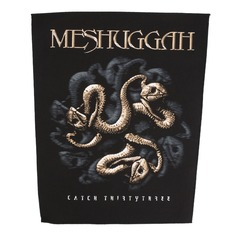 patch large MESHUGGAH - CATCH 33 - RAZAMATAZ, RAZAMATAZ, Meshuggah
