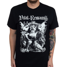 Men's t-shirt Vital Remains - Asmodaeus - Black - INDIEMERCH, INDIEMERCH, Vital Remains