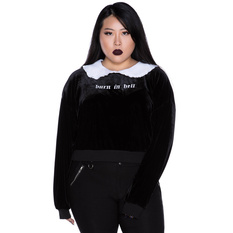 Women's hoodie KILLSTAR - Carrie Collar, KILLSTAR