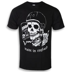 t-shirt hardcore men's - SKATE / DIE - GRIMM DESIGNS, GRIMM DESIGNS