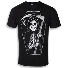 t-shirt hardcore men's - GRIMM REAPER - GRIMM DESIGNS, GRIMM DESIGNS
