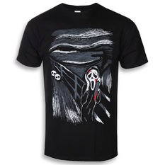 t-shirt hardcore men's - THE SCREAM - GRIMM DESIGNS, GRIMM DESIGNS