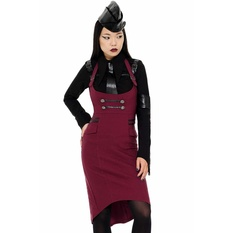 Women's skirt KILLSTAR - Darkwave Division - BLOOD, KILLSTAR