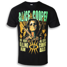 t-shirt metal men's Alice Cooper - Graveyard - ROCK OFF, ROCK OFF, Alice Cooper