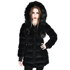Women's coat KILLSTAR - Dead Of Night - Velvet, KILLSTAR