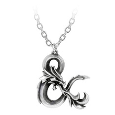 Pendant necklace ALCHEMY GOTHIC - Dungeons & Dragons - Pewter, ALCHEMY GOTHIC