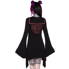 Women's dress KILLSTAR - En-Crypted Collar, KILLSTAR
