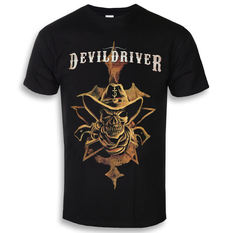 t-shirt metal men's Devildriver - Cowboy - NAPALM RECORDS, NAPALM RECORDS, Devildriver