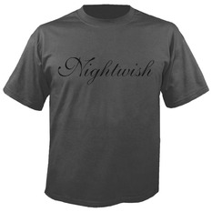 t-shirt metal men's Nightwish - Logo GREY - NUCLEAR BLAST, NUCLEAR BLAST, Nightwish