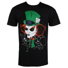 t-shirt hardcore men's - MAD HATTER - GRIMM DESIGNS, GRIMM DESIGNS