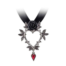 Pendant necklace ALCHEMY GOTHIC - Guirlande d'Amour, ALCHEMY GOTHIC