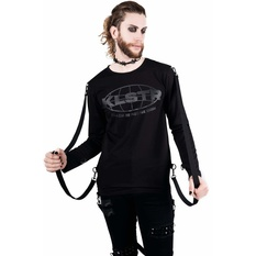 Unisex t-shirt with long sleeves KILLSTAR - Hack You Up, KILLSTAR
