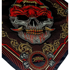 Headscarf HYRAW - SKULL COLOR, HYRAW