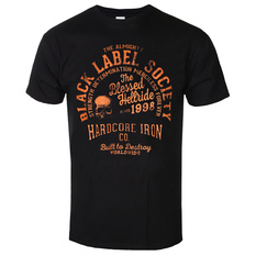 Men's t-shirt BLACK LABEL SOCIETY - HARDCORE HELLRIDE - PLASTIC HEAD, PLASTIC HEAD, Black Label Society