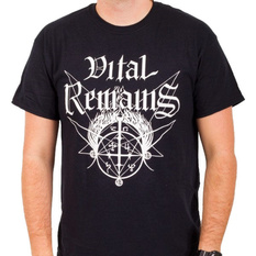 Men's t-shirt Vital Remains - Old School - Black - INDIEMERCH, INDIEMERCH, Vital Remains