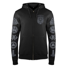 Men's hoodie VICTORY OR VALHALLA - SKULL, VICTORY OR VALHALLA