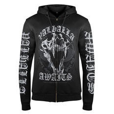 Men's hoodie VICTORY OR VALHALLA - THE LEGEND, THE MYTH, VICTORY OR VALHALLA