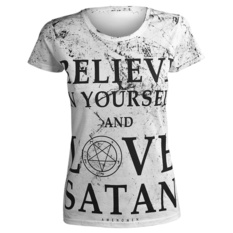 t-shirt hardcore women's - BELIEVE... - AMENOMEN, AMENOMEN