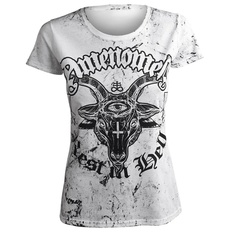 t-shirt hardcore women's - REST IN HELL - AMENOMEN, AMENOMEN
