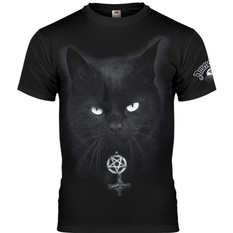 t-shirt hardcore men's - BLACK CAT - AMENOMEN, AMENOMEN