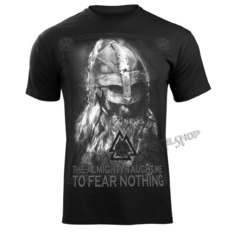 t-shirt men's - THE ALMIGHTY TAUGHT ME TO FEAR NOTHING - VICTORY OR VALHALLA, VICTORY OR VALHALLA