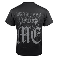 Men's t-shirt VICTORY OR VALHALLA - VIKING SHIELD, VICTORY OR VALHALLA