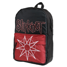 Backpack SLIPKNOT - WANYK STAR - RED, NNM, Slipknot