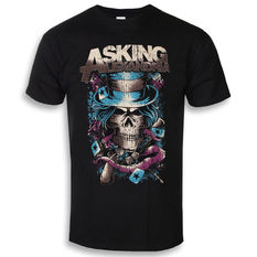 t-shirt metal men's Asking Alexandria - Hat Skull - ROCK OFF, ROCK OFF, Asking Alexandria