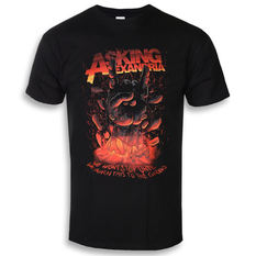 t-shirt metal men's Asking Alexandria - Metal Hand - ROCK OFF, ROCK OFF, Asking Alexandria