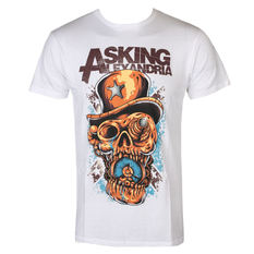 t-shirt metal men's Asking Alexandria - Stop The Time - ROCK OFF, ROCK OFF, Asking Alexandria