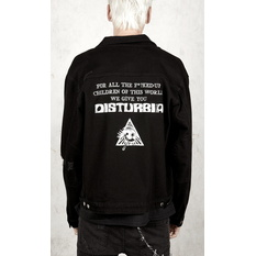 Unisex jacket DISTURBIA - Denim, DISTURBIA
