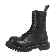 Winter boots STEEL - 10 holes - black, STEEL