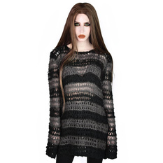 Women's sweater KILLSTAR - Strange Daze Faux-Mohair, KILLSTAR