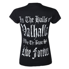 Women's t-shirt VICTORY OR VALHALLA - THOR'S HAMMER, VICTORY OR VALHALLA