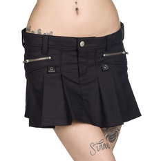 Women's skirt BLACK PISTOL - Basic - Black, BLACK PISTOL