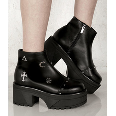 wedge boots women's - DISTURBIA, DISTURBIA