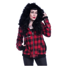 Women´s jacket VIXXSIN - VIA - RED CHECK
