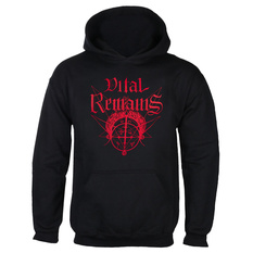 Men's hoodie Vital Remains - Where Is Your God Now - Black - INDIEMERCH, INDIEMERCH, Vital Remains