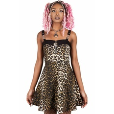 Women's dress KILLSTAR - Wild Side - LEO, KILLSTAR